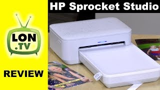 HP Sprocket Studio Review - Compact Dye Sub Photo Printer