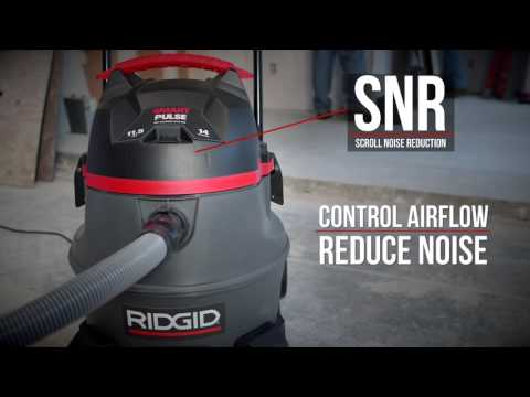 RIDGID 3410RV – SmartPulse Self-Cleaning Vacuum For Heavy Dust