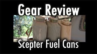 Gear Review: Scepter fuel Cans (MFC 20L)