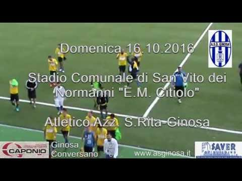 Preview video GINOSA-CONVERSANO 2-0 Il Ginosa concede il tris e rimane in vetta alla classifica