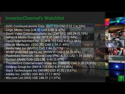 InvestorChannel's Media Watchlist Update for Thursday, Jan ... Thumbnail