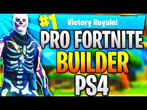 Pro Fortnite Player PS4! Level 100 | Top Builder | Fast Builder | 12k+ Kills! (TOP CONSOLE BUILDER)
