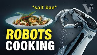 Robots Cooking: The Restaurant of the Future