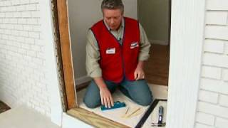 How to Install A Pre-Hung Exterior Door