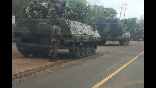 Taharuki Zimbabwe:Magari ya kijeshi yaoneka  Harare