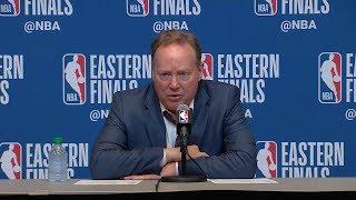 Mike Budenholzer Postgame Interview - Game 5 | Raptors vs Bucks | 2019 NBA Playoffs