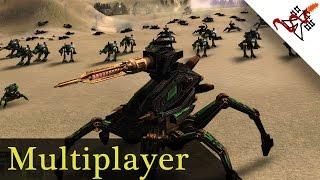 Supreme Commander Forged Alliance - 1vs1 Kirin vs SergiuHellDragoonHQ Multiplayer Gameplay