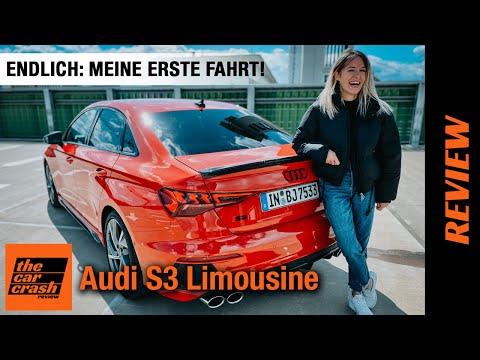 Audi S3 Limousine (2021) Endlich darf ich sie fahren! 🤩 Fahrbericht | Review | Test | Sound | Sedan
