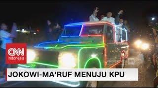 Download Video Naik Mobil Kelap-kelip, Jokowi-Ma'ruf Tiba KPU MP3 3GP MP4