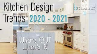 KITCHEN DESIGN TRENDS 2020-2021 | What's OUT & IN? | Ep 17 | BA Studio TV