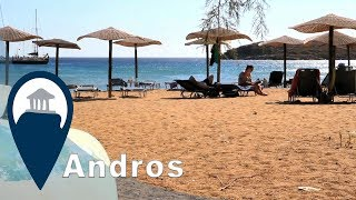 Andros | Batsi Beach