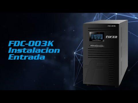 FDC 003K Conexion de Entrada