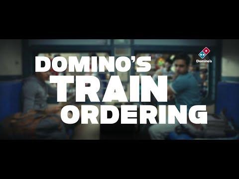 Domino's Train Ordering
