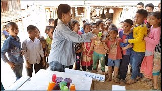 ตะลุยลาวเหนือ EP17:ความสุขเล็กๆ แจกขนมเด็กน้อยชนเผ่าสีดา(อาข่า-สิลา)  จาก10 คน มาเป็น 100 คน