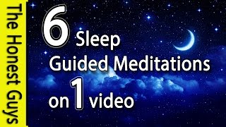 6 Guided Sleep Meditations On One Video (No Ads Between Tracks)