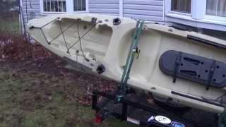 Toast's Utility Trailer to Kayak Trailer Conversion: Episode 111