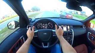 2015 Land Rover Discovery Sport POV Test Drive
