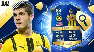FIFA 17 TOTS PULISIC REVIEW | TOTS REWARD PULISIC 88 | FIFA 17 ULTIMATE TEAM PLAYER REVIEW