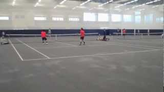 preview picture of video 'HOBART HIGHLIGHTS: Tennis defeats Ithaca 6-3'