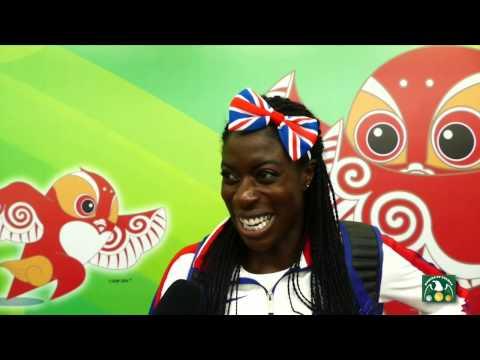 2015 World Championships - Christine Ohuruogu GBR - post race interview