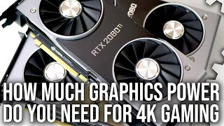 What Graphics Card Do You Really Need for 4K PC Gaming?