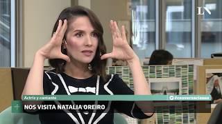 Conversaciones en LA NACION: Natalia Oreiro con Mariana Arias