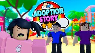 The Day I Was Adopted Roblox Story
