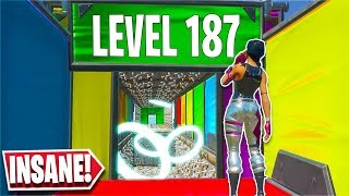 I played a 187 level Deathrun and this happened... *EPIC END* (Fortnite Creative)