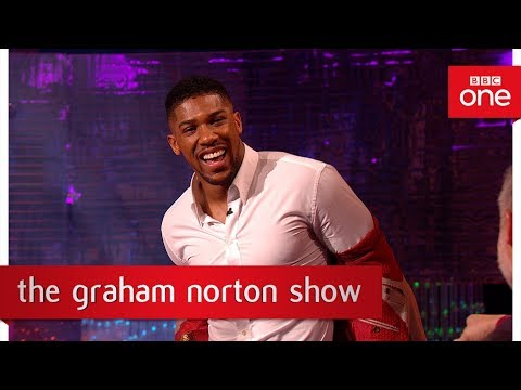 Anthony Joshua gives a boxing lesson - The Graham Norton Show: 2017 - BBC One