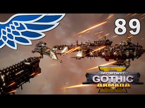 BATTLEFLEET GOTHIC ARMADA 2 | Tzeentch Part 89 - Imperial Campaign BFGA2 Let's Play Gameplay