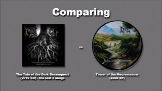 """Comparing Evol """"The Tale of the Dark Dreamquest"""" x """"Tower of the Necromancer"""""""