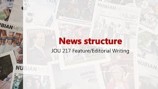 News structure