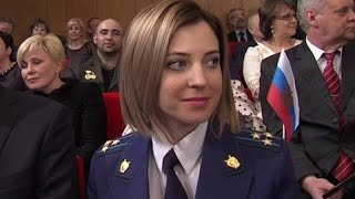 Наталья Поклонская в Генеральной прокуратуре РФ (24.03.2015 г.)