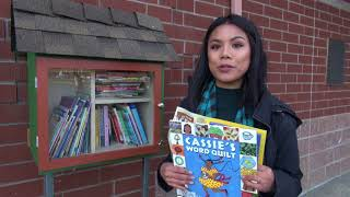 Little Free Library at Franklin Elementary School