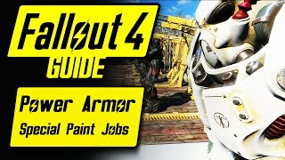 Fallout 4 Power Armor Special/Unique Paint Jobs Guide & Overview