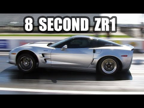 8 Second Street Car - C6 ZR1 Corvette