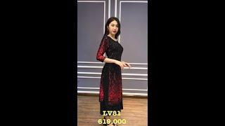 Đầm xinh mới về_ Đầm trung niên LV81 0981651299