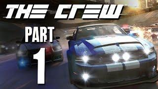 The Crew Gameplay Walkthrough - Part 1 RACING ACROSS AMERICA (Beta)