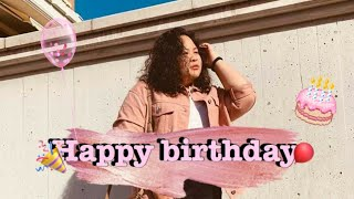 Appreciation video: Happy birthday 💟