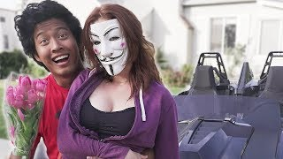 REUNITED With HACKER GIRL!!! (Cool Spy Car Project Zorgo Gadgets, Riddles and secret Clues)