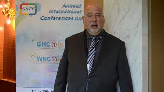 Prof. Alan Gorr at GHC Conference 2016 by GSTF Singapore