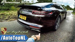 2018 Porsche Panamera Turbo S E-Hybrid REVIEW POV by AutoTopNL