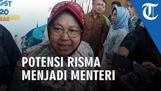 Reaksi Risma Terkait Potensinya Masuk Kandidat Menteri Jokowi