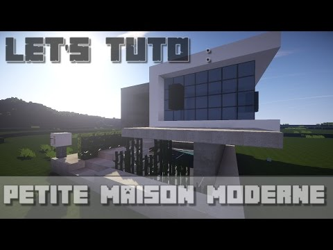 Ultra Modern Small House Minecraft Project