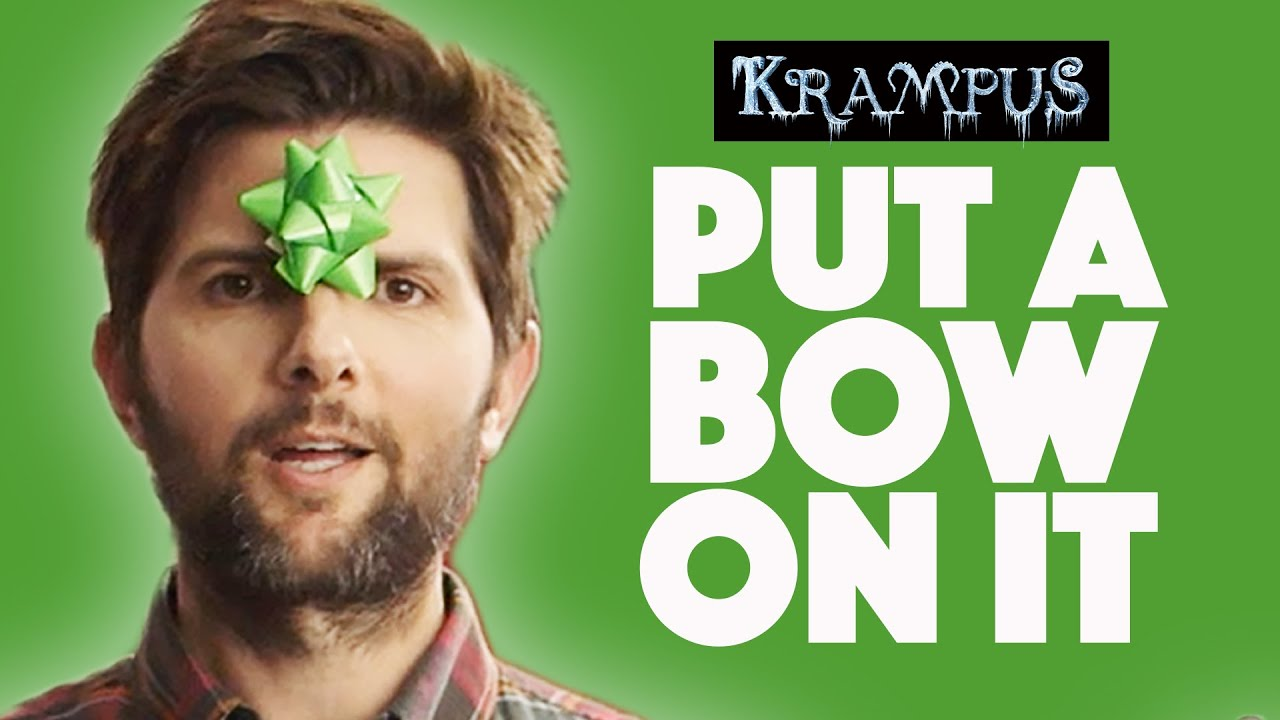 Gift Wrapping Tips With Adam Scott // Presented by BuzzFeed & Krampus thumbnail