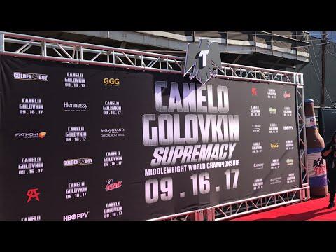 Canelo vs GGG Red carpet & press conference!