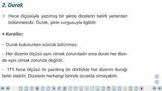 Eğitim Vadisi AYT Edebiyat 3.Föy Şiir 1 Konu Anlatım Videoları