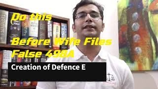 Wife Planning to file False 498A-Here what you can do to save yourself