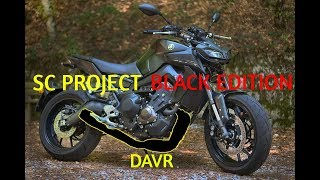 mt 09 tracer exhaust sc project - TH-Clip