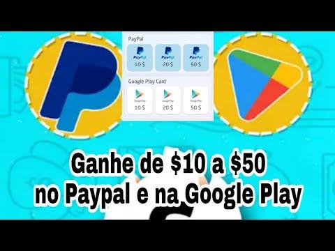 Gain Time - Ganhe Até $50 Dólares no Paypal e Google Play